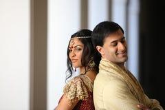 para piękny hindus fotografia royalty free