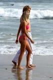 para plażowa zdjęcie stock