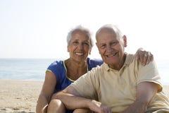 para plażowy senior Obraz Stock
