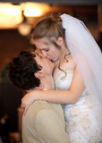 para poślubiająca niedawno Fotografia Stock
