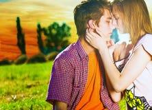 para pocałunek Fotografia Stock