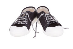 Para prości gumshoes (sneakers) Obraz Royalty Free
