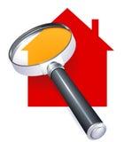 para procurarar uma casa ilustração do vetor