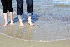 Para przy plażą Fotografia Stock
