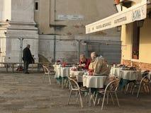 Para przy Venezia obrazy stock