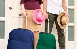 Para przygotowywa wakacje Zdjęcie Stock