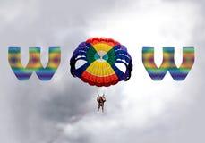 Para que navegan concepto del wow imagen de archivo
