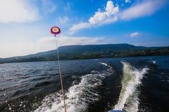 Para Sailing Blue Waters Stock Photos