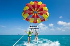 Free Para Sailing Near Coast Stock Images - 72705444