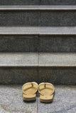 Para sandały Zdjęcie Stock