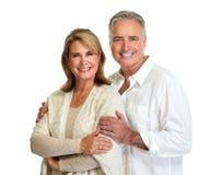 para seniora uśmiecha się zdjęcie royalty free