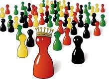 Para ser rei coroado Imagens de Stock