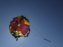 Parachute. On vacation walking along the seashore and here it is Royalty Free Stock Photography