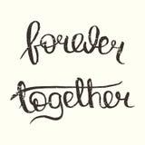 Para siempre junto Foto de archivo
