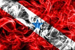 Para smoke flag, state in northern Brazil.  Stock Image