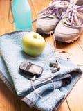 Para sportów buty i sprawności fizycznych akcesoria Obraz Stock
