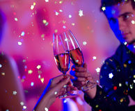 para szampańska zdjęcie royalty free