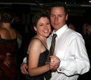 para tańczący miesiąc miodowy Fotografia Royalty Free