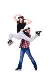 Para tancerzy tanczyć Fotografia Royalty Free