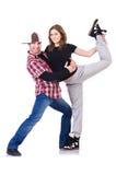 Para tancerzy tanczyć Zdjęcia Stock
