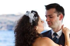Para tanczy ślubnego tana zdjęcie royalty free
