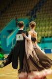 Para taniec Zdjęcia Stock