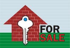 Para tijolos da venda Ilustração Stock