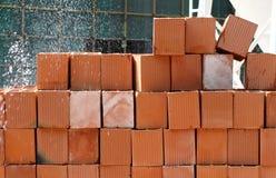 Para tornar ôco o sistema de extinção de incêndios do tijolo Fotografia de Stock Royalty Free