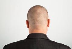Para trás da cabeça masculina Imagem de Stock