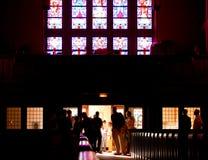 Para trás da igreja Imagens de Stock Royalty Free