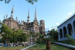 Para trás da igreja dos Capuchins - Córdova, Argentina Foto de Stock Royalty Free