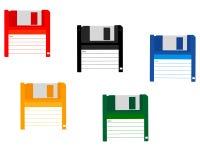 Para un ordenador del disco blando Fotografía de archivo libre de regalías