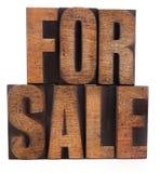 Para a venda Imagem de Stock