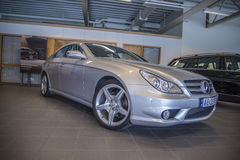 Para a venda, amg dos cls do Mercedes-Benz Foto de Stock Royalty Free