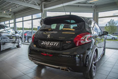 Para a venda, gti de Peugeot 208 fotografia de stock
