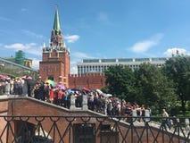 Para ver o Kremlin Imagem de Stock