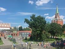 Para ver o Kremlin Imagens de Stock Royalty Free