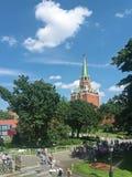 Para ver o Kremlin Fotografia de Stock