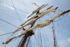 Para viento del mar que espera Foto de archivo libre de regalías