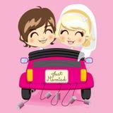 para właśnie poślubiająca Obraz Royalty Free