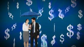 Para w biznesie robi pieniądze zdjęcie wideo