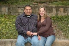 para w ciąży Fotografia Stock