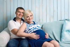 para w ciąży Obraz Stock