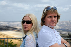 Para w Konflikcie Zdjęcie Royalty Free