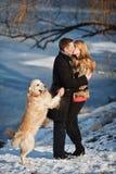 Para w miłości Obraz Royalty Free