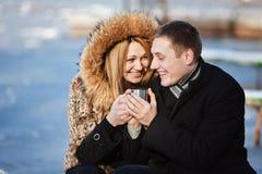 Para w miłości Zdjęcie Stock