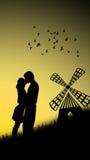 Para w miłości Obraz Stock