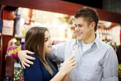 Para w miłości Zdjęcia Royalty Free