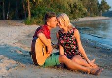 Para w miłości Fotografia Stock