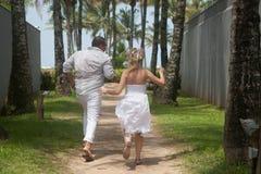 Para w plaży Obrazy Stock